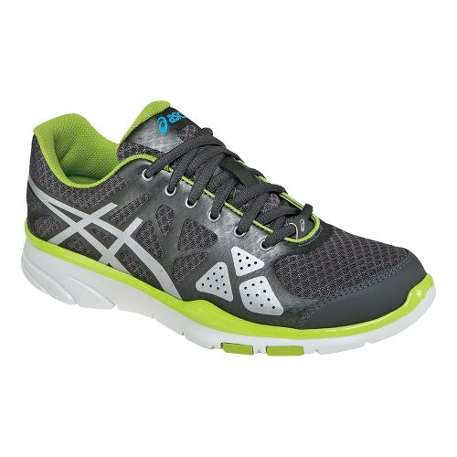 Womens ASICS GEL-Harmony TR Cross Training Shoe - Titanium/Lime 6.5