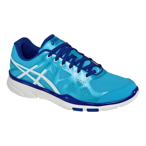 Womens ASICS GEL-Harmony TR Cross Training Shoe - Turquoise/White 10.5
