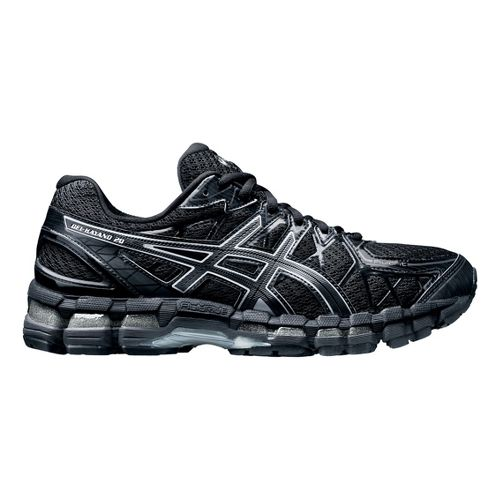 Mens ASICS GEL-Kayano 20 Running Shoe - Black 7.5