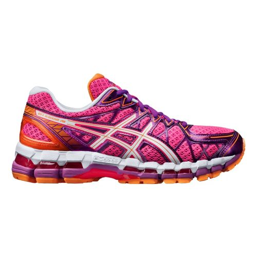 Womens ASICS GEL-Kayano 20 Running Shoe - Pink 9