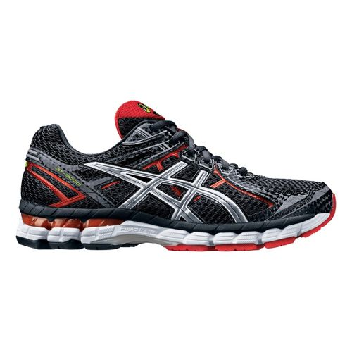 Mens ASICS GT-2000 2 Running Shoe - Black/Red 7