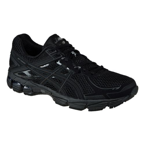 Mens ASICS GT-1000 2 Running Shoe - Black/Onyx 9