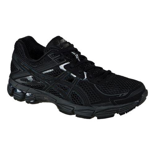 Womens ASICS GT-1000 2 Running Shoe - Black/Onyx 10.5