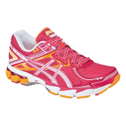 Womens ASICS GT-1000 2 Running Shoe - Raspberry/White 12