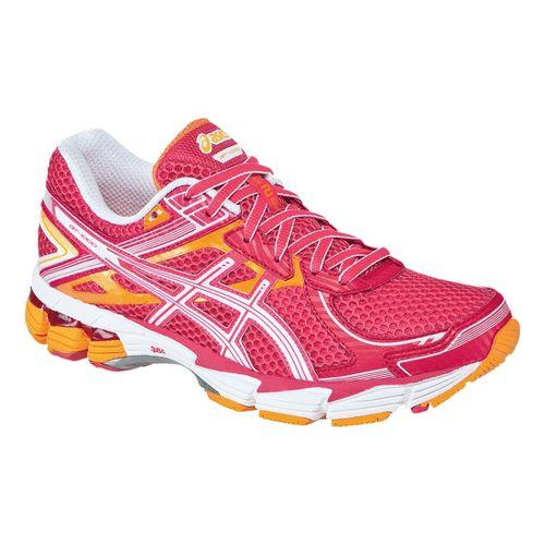 Womens ASICS GT-1000 2 Running Shoe - Raspberry/White 5