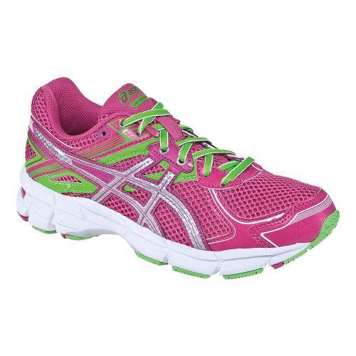 Kids ASICS GT-1000 2 GS Running Shoe - Hot Pink/Lightning 6.5