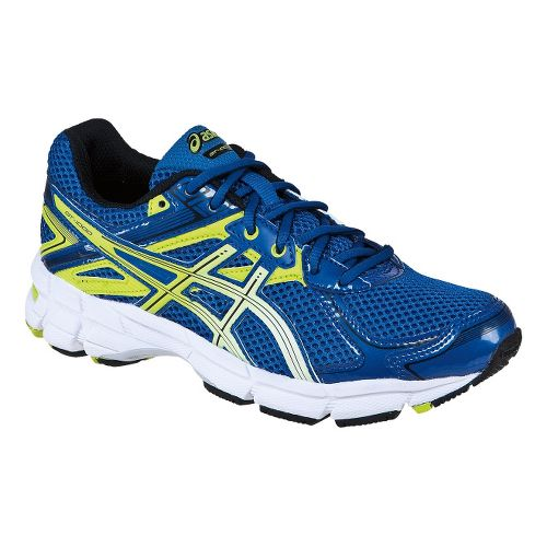 Kids ASICS GT-1000 2 GS Running Shoe - Royal/Lime 6.5