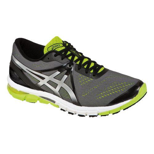 Mens ASICS GEL-Excel33 3 Running Shoe - Charcoal/Lime 9