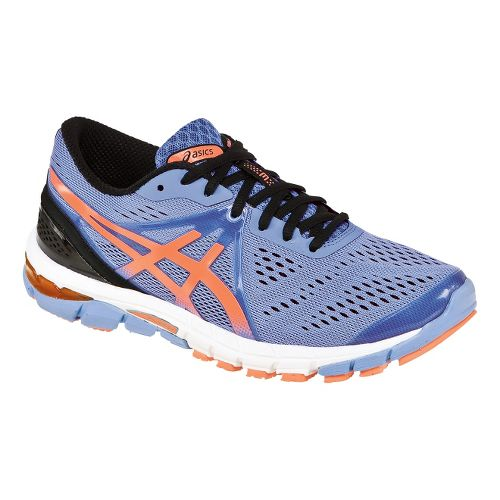 Womens ASICS GEL-Excel33 3 Running Shoe - Lavender/Orange 7.5