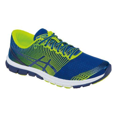 Mens ASICS GEL-Lyte33 3 Running Shoe - Royal/Flash Yellow 12