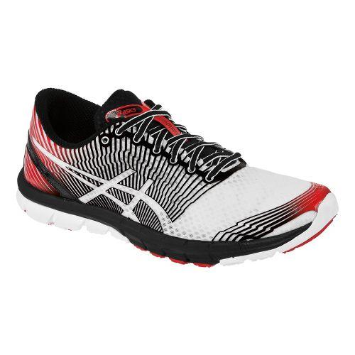 Mens ASICS GEL-Lyte33 3 Running Shoe - White/Black 14