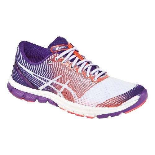 Womens ASICS GEL-Lyte33 3 Running Shoe - Purple/White 7.5
