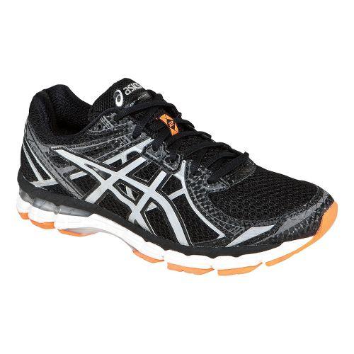 Mens ASICS GT-2000 2 Lite-Show Running Shoe - Black/Orange 7