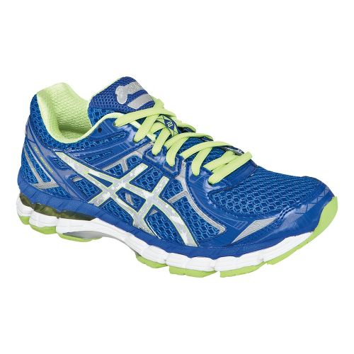 Womens ASICS GT-2000 2 Lite-Show Running Shoe - Blue/Green 6.5
