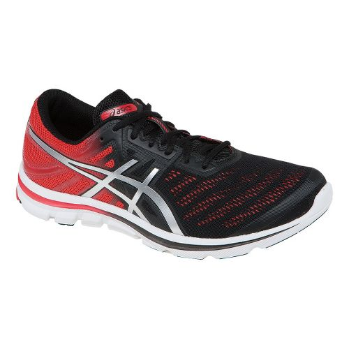 Mens ASICS GEL-Electro33 Running Shoe - Onyx/Lightning 9.5
