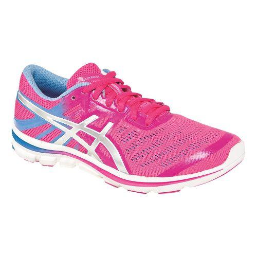 Womens ASICS GEL-Electro33 Running Shoe - Flash Pink/Silver 11.5