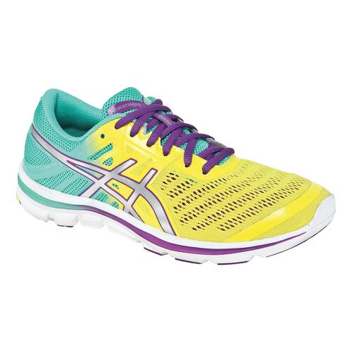 Womens ASICS GEL-Electro33 Running Shoe - Yellow/Mint 8.5