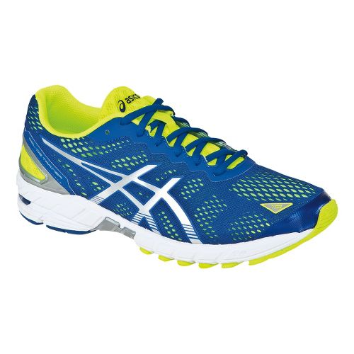 Mens ASICS GEL-DS Trainer 19 Running Shoe - Blue/Green 8.5