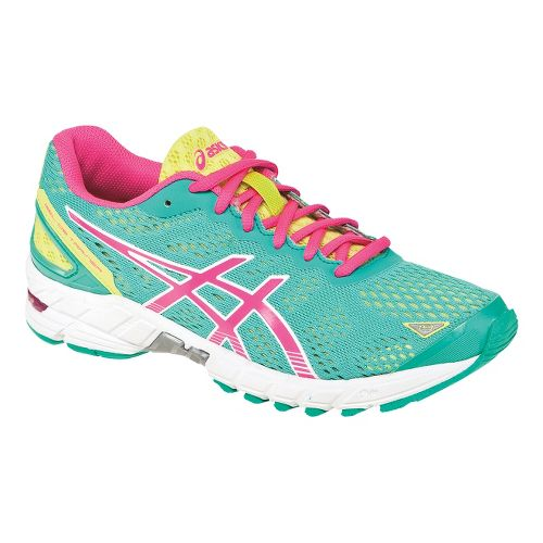 Womens ASICS GEL-DS Trainer 19 Running Shoe - Mint/Pink 10