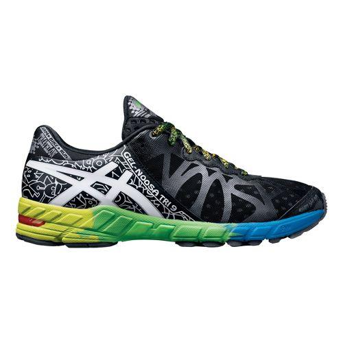 Mens ASICS GEL-Noosa Tri 9 Running Shoe - Black/White 10