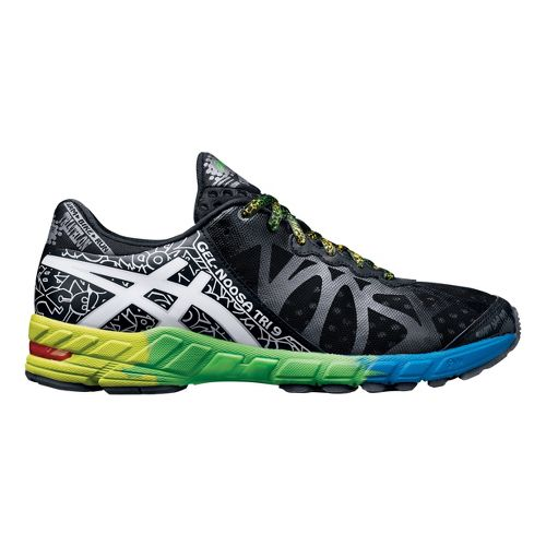 Mens ASICS GEL-Noosa Tri 9 Running Shoe - Black/White 12