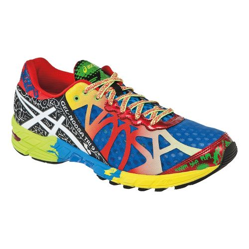 Mens ASICS GEL-Noosa Tri 9 Running Shoe - Blue/Multi 10.5