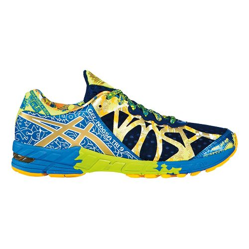 Mens ASICS GEL-Noosa Tri 9 Running Shoe - Navy/Gold 8.5