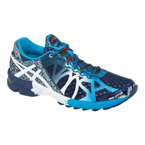 Mens ASICS GEL-Noosa Tri 9 Running Shoe - Navy/White 14