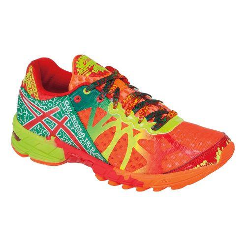 Womens ASICS GEL-Noosa Tri 9 Running Shoe - Brite Orange/Red Pepper 10