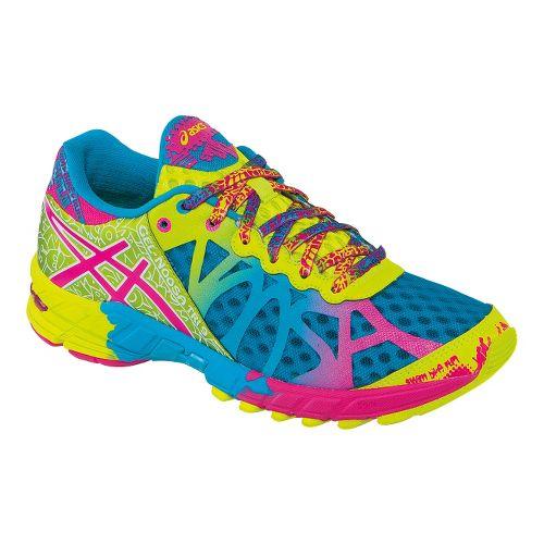 Womens ASICS GEL-Noosa Tri 9 Running Shoe - Teal/Lime 11.5