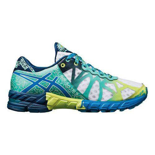 Womens ASICS GEL-Noosa Tri 9 Running Shoe - White/Mint 10.5