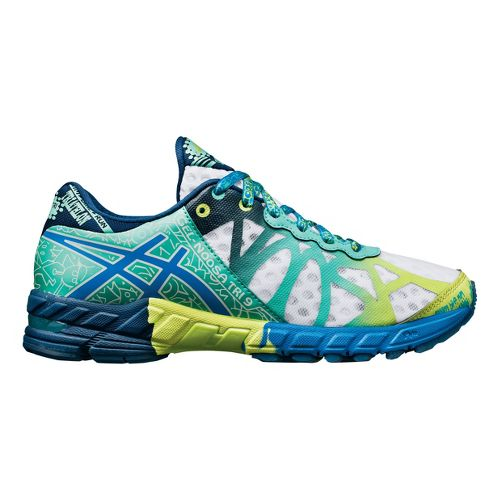 Womens ASICS GEL-Noosa Tri 9 Running Shoe - White/Mint 11