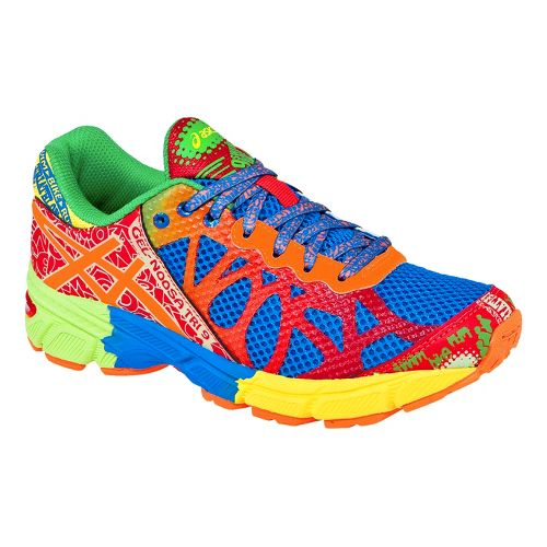 Kids ASICS GEL-Noosa Tri 9 GS Running Shoe - Blue/Multi 2