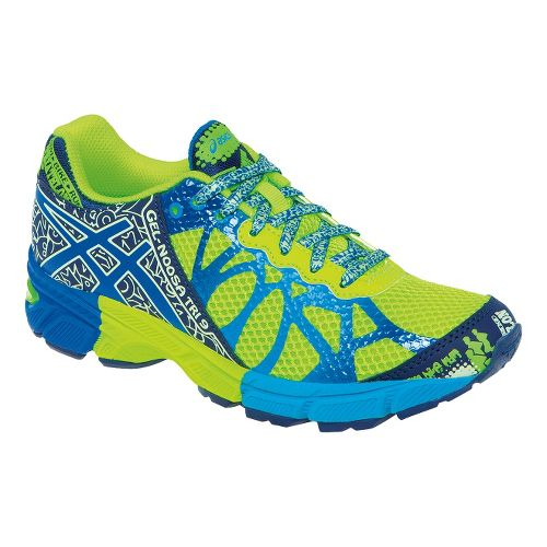 Kids ASICS GEL-Noosa Tri 9 GS Running Shoe - Flash Yellow/Royal 6