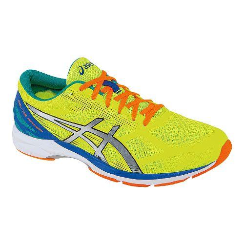 Mens ASICS GEL-DS Racer 10 Racing Shoe - Flash Yellow 7