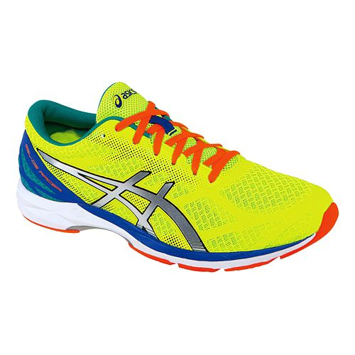 Mens ASICS GEL-DS Racer 10 Racing Shoe - Flash Yellow 7.5