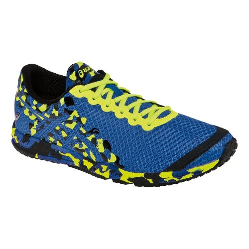 Mens ASICS GEL-Noosafast 2 Racing Shoe - Blue/Lime 7.5