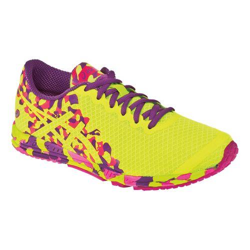 Womens ASICS GEL-Noosafast 2 Racing Shoe - Flash Yellow/Grape 8.5