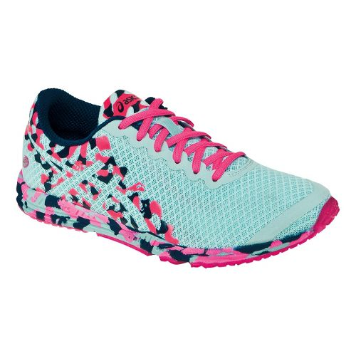 Womens ASICS GEL-Noosafast 2 Racing Shoe - Mint/Pink 10.5