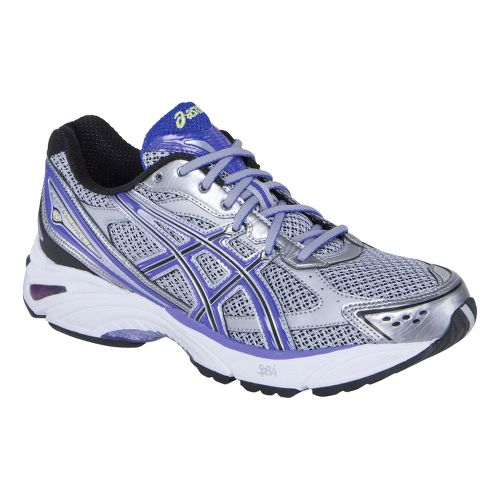 Womens ASICS GEL-Foundation 8 Running Shoe - Grey/Iris 7.5