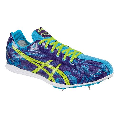 ASICS GunLap Track and Field Shoe - Blue Floral 6