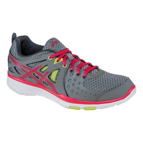 Womens ASICS GEL-Sustain TR 2 Cross Training Shoe - Grey/Pink 9.5