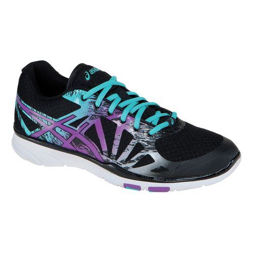 Womens ASICS GEL-Harmony TR 2 Cross Training Shoe - Black/Purple 5