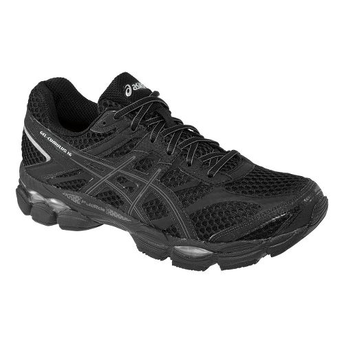Mens ASICS GEL-Cumulus 16 Running Shoe - Black/Onyx 9.5