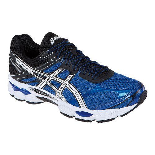 Mens ASICS GEL-Cumulus 16 Running Shoe - Blue/Black 8