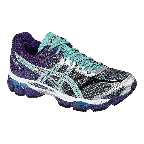 Womens ASICS GEL-Cumulus 16 Running Shoe - Grey/Purple 13