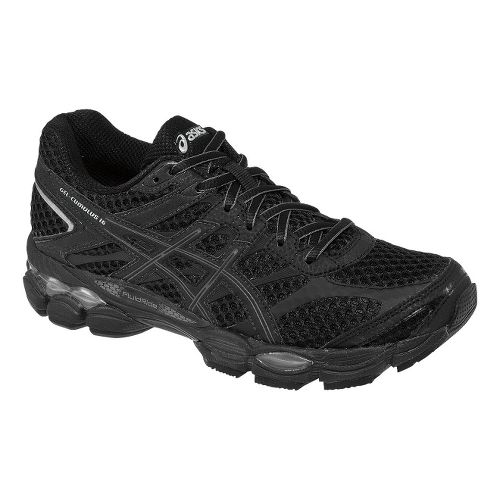 Womens ASICS GEL-Cumulus 16 Running Shoe - Black/Onyx 10