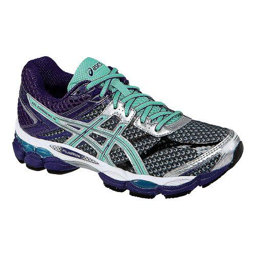 Womens ASICS GEL-Cumulus 16 Running Shoe - Grey/Purple 10.5