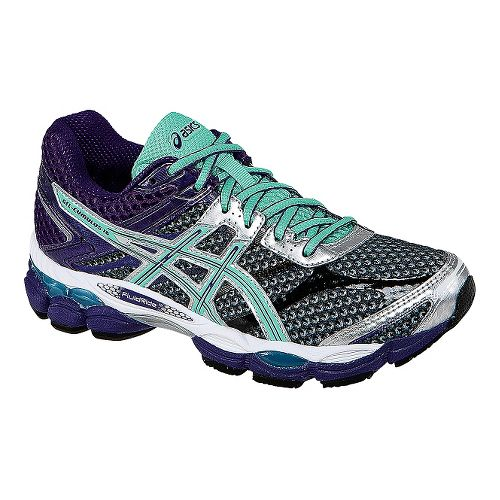 Womens ASICS GEL-Cumulus 16 Running Shoe - Grey/Purple 7.5