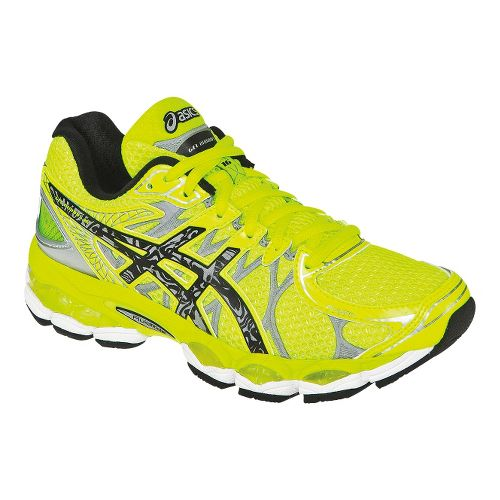 Womens ASICS GEL-Nimbus 16 Lite-Show Running Shoe - Flash Yellow 5